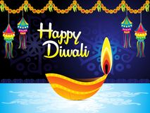 Abstract artistic creative cool diwali background. Vector illustration stock illustration