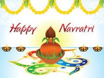 Abstract artistic creative detailed navratri background Royalty Free Stock Photography
