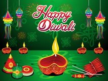 Abstract artistic creative diwali background. Vector illustration stock illustration