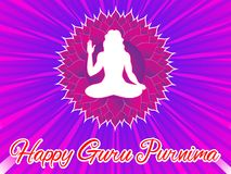 Abstract artistic creative guru purnima background. Vector illustration vector illustration