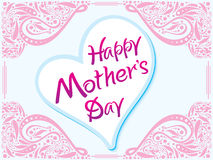 Abstract artistic creative mother day background Royalty Free Stock Photos