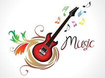 Abstract artistic creative music background Stock Photo