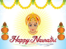 Abstract artistic creative navratri background Stock Photos