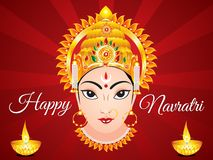 Abstract artistic creative navratri background. Vector illustration royalty free illustration