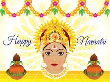 Abstract artistic creative navratri background. Vector illustration vector illustration