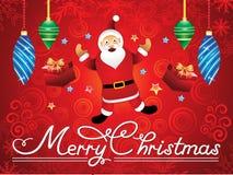 Abstract artistic creative santa christmas background. Vector illustration vector illustration