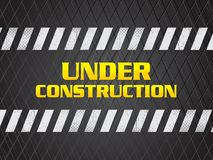Abstract artistic creative under construction background Stock Photos