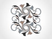 Abstract artistic decorative element. This image is a illustration of abstract artistic decorative element vector illustration