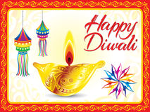 Abstract artistic deepawali background. Vector illustration vector illustration