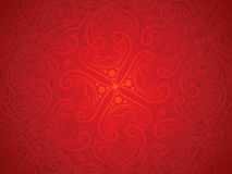 Abstract artistic detailed red floral background Stock Photography