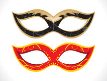 Abstract artistic disco mask Royalty Free Stock Photography