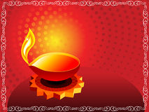 Abstract artistic diwali background with border. Vector illustration