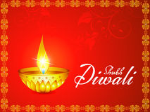 Abstract artistic diwali background Stock Image