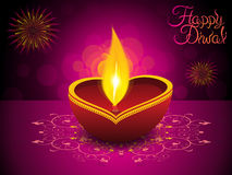 Abstract artistic diwali background Royalty Free Stock Images