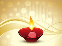 Abstract artistic diwali background. Vector illustration Royalty Free Stock Images