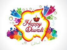 Abstract artistic diwali explode. Vector illustration Royalty Free Illustration