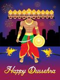 Abstract artistic dussehra background. Vector illustration vector illustration