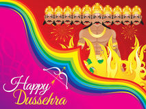 Abstract artistic dussehra background. Vector illustration royalty free illustration
