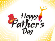 Abstract artistic father's day background. Vector illustration Stock Images