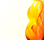 Abstract  artistic  fire background Stock Image