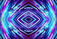 Abstract artistic glowing dangerous energetic fiery artwork background royalty free illustration
