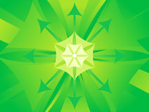 Abstract artistic green titled background. Vector illustration royalty free illustration