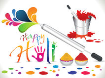 Abstract artistic holi background Royalty Free Stock Images