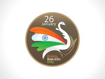 Abstract artistic indian republic day background Royalty Free Stock Images
