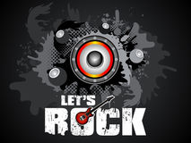 Abstract artistic lets rock background. Vector illustration Stock Image