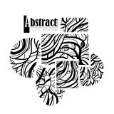 Abstract artistic line Stock Images