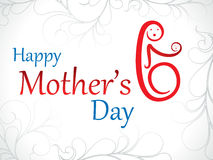 Abstract artistic mother day background. Vector illustration Royalty Free Stock Images