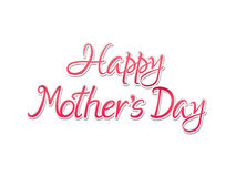Abstract artistic mothers day background. Vector illustration Royalty Free Stock Photos