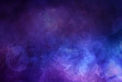 Abstract Artistic Multicolored Foggy Galactic Texture As A Background stock images