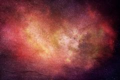 Abstract Artistic Modern Digital Multicolored Galaxy Artwork stock photography