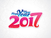 Abstract artistic new year background. Vector illustration Royalty Free Stock Images