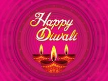 Abstract artistic purple diwali background. Vector illustration royalty free illustration