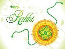 Abstract artistic raksha bandhan background Stock Image