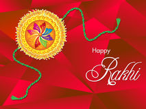 Abstract artistic raksha bandhan background Royalty Free Stock Photography