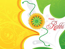 Abstract artistic raksha bandhan background. Vector illustration Royalty Free Stock Image