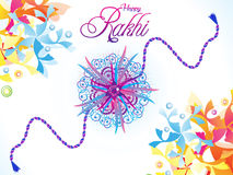 Abstract artistic raksha bandhan background Stock Photos