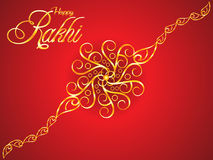 Abstract artistic raksha bandhan background Stock Image