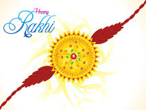 Abstract artistic raksha bandhan. Vector illustration Stock Photos