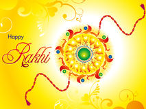 Abstract artistic raksha bandhan wallpaper. Vector illustration Stock Images