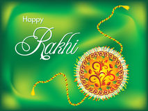 Abstract artistic rakshabandhan background Stock Images