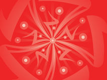 Abstract artistic red background. Vector illustration stock illustration