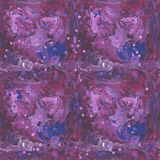 Abstract artistic seamless pattern Royalty Free Stock Image