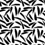 Abstract artistic seamless pattern with strokes. Trendy hand drawn textures. Modern. Abstract design for paper, cover, fabric, interior decor and other users Stock Illustration