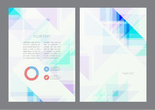Abstract artistic soft light shapes. Vector background Royalty Free Stock Images
