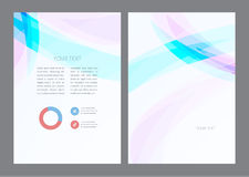 Abstract artistic soft light wave. Vector background stock illustration