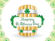 Abstract artistic st patrick day background. Vector illustration stock illustration